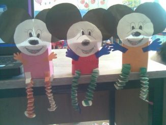 box mickey mouse craft