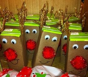 box reindeer craft