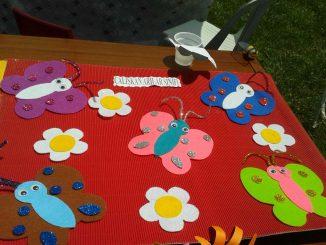 butterfly bulletin board idea