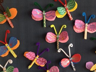 butterfly bulletin board ideas