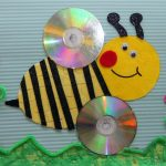 cd-bee-craft-idea-for-kids
