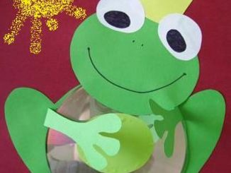 cd-frog-craft-idea