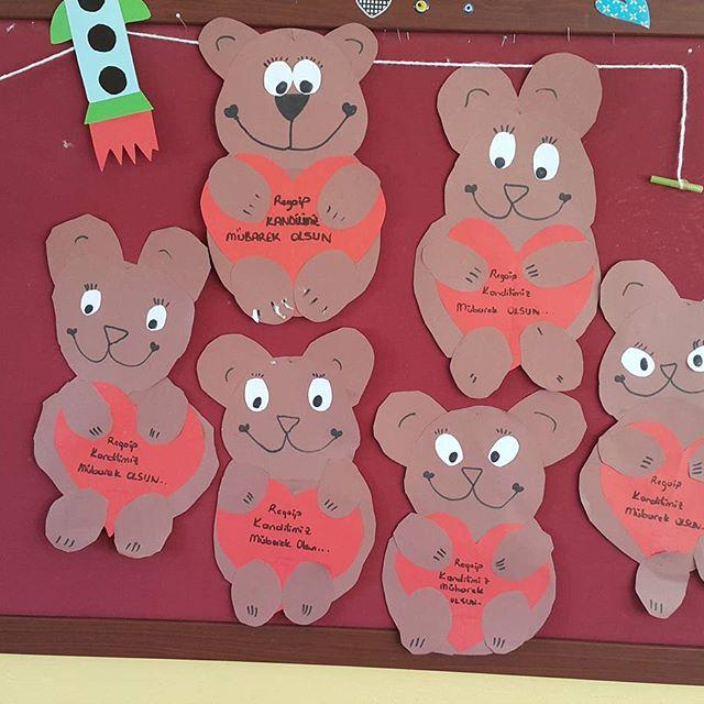 heart bear craft