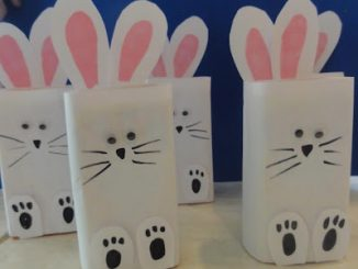 juice box bunny craft idea