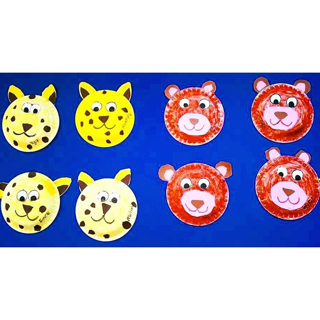 paper-plate-bear-craft-idea