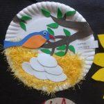 paper-plate-bird-nest-craft-idea