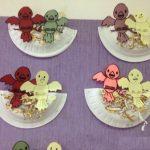 paper palet bird nest craft idea