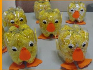 plastic-bottle-chick-craft-idea