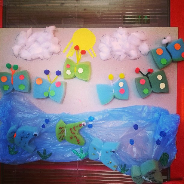 sponge-butterfly-craft-idea