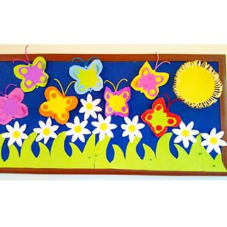 spring-bulletin-board-idea-for-kids