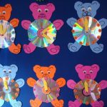 bear clock craft