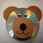 cd bear craft idea