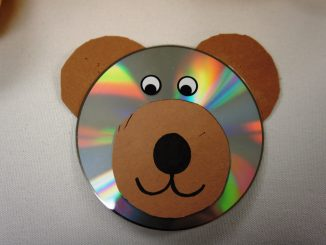 cd bear craft idea