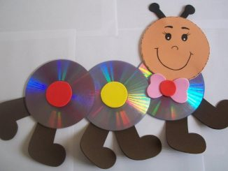 cd-caterpillar-craft-idea
