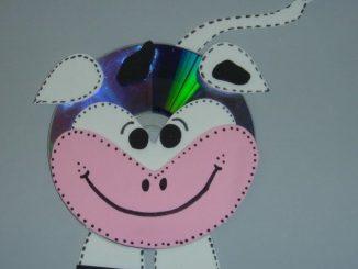 cd cow craft idea