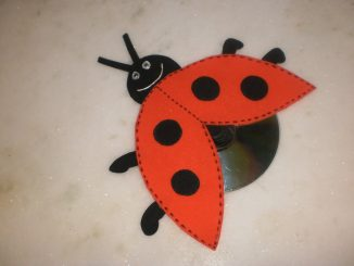 cd-lady-bug-craft-idea