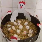 chicken craft idea for kids