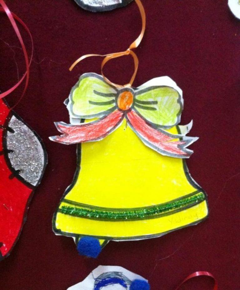 christmas bell craft