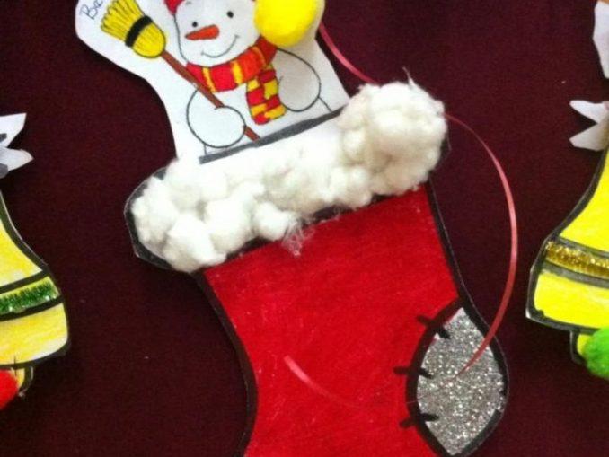christmas socks craft
