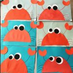 easy crab craft idea