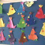 origami chicken craft idea