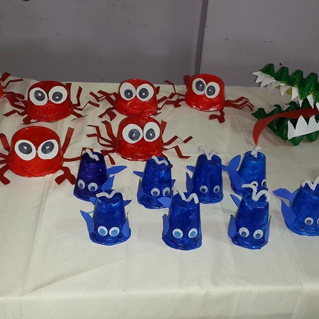 paper-cup-crab-craft-idea