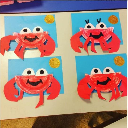 paper-plate-crab-craft-idea