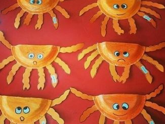 paper plate crab ideas