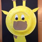 paper_plate_giraffe_craft_idea