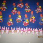 plastic bag chicken craft