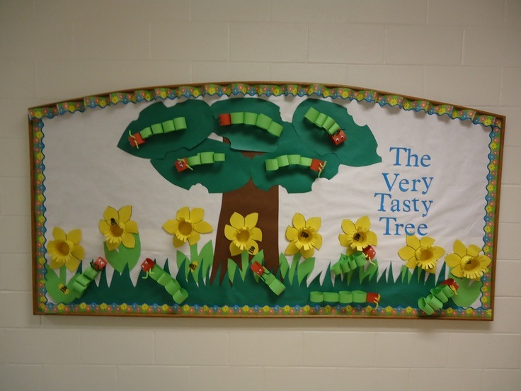 Cute-spring-Bulletin-Board-idea