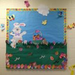 Easter-bulletin-board-idea