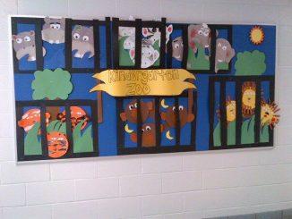 Kindergarten-Zoo-Bulletin-Board-idea