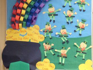 Saint-Patricks-Day-Bulletin-Board-idea-for-kids