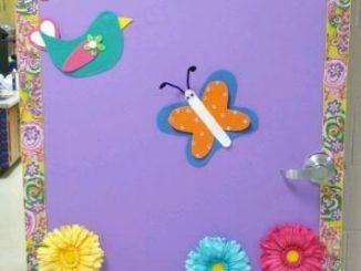 Spring-Classroom-Door-Idea-for-kids