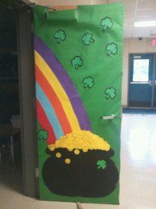 St Patrick S Day Door Decoration Idea