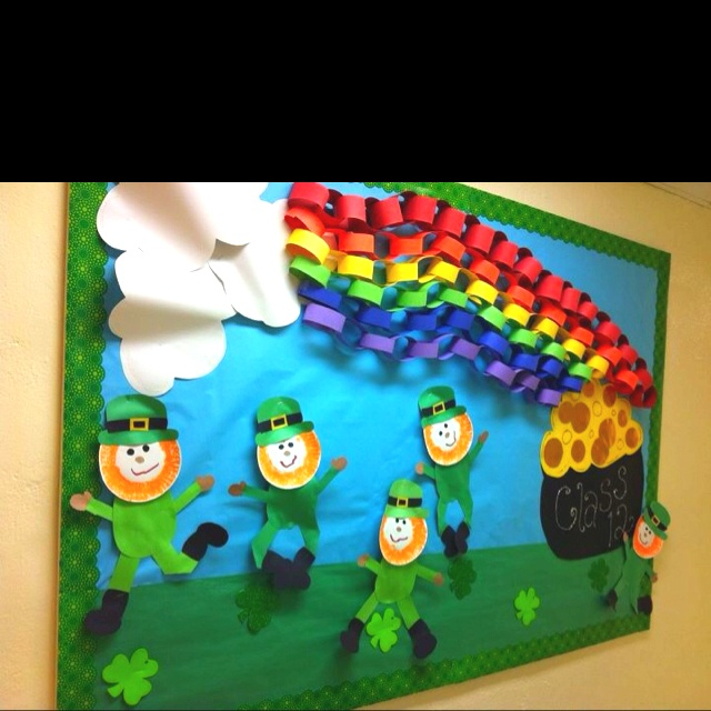 St.-Patricks-Day-bulletin-board-ideas