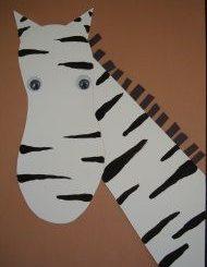 Zoo-zebra-craft-idea