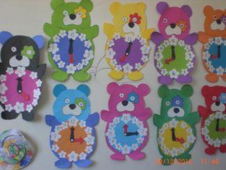 bear-clock-craft-idea