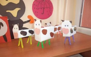 box cow craft idea