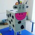 box cow craft idea for kids