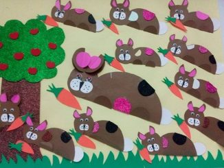bunny-bulletin-board-idea-for-kids