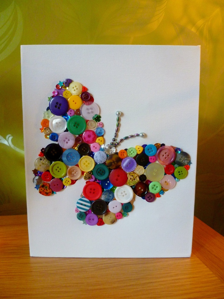 button-butterfly-craft-idea