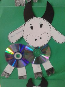 cd cow crafts