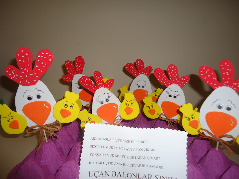 chicken craft idea for toddlers