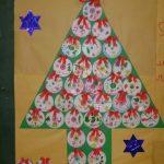 christmas tree bulletin board idea
