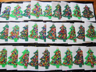 christmas tree craft idea