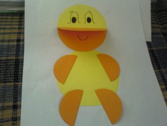 circle duck craft