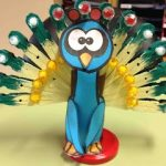 clothes pin turkey craft