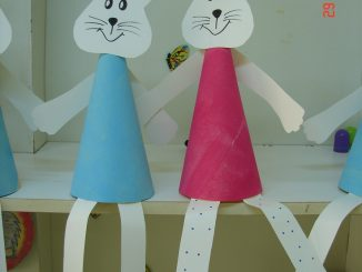 cone-shaped-bunny-craft-idea